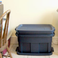 indoor worm bin diy